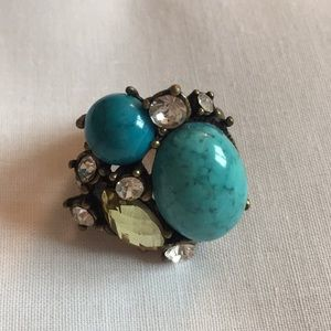 Urban Outfitters Turquoise Cocktail Ring
